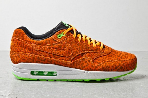 Nike Air Max 1 FB Orange Leopard