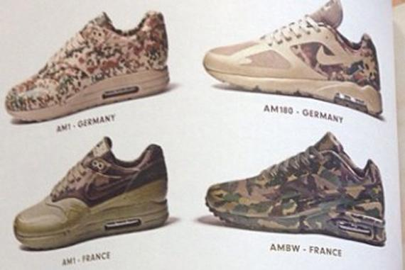 Nike Air Max 'Camo Country' Pack