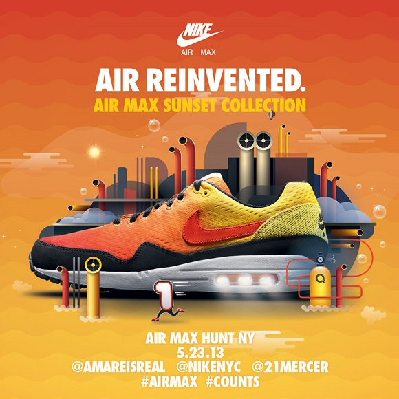 Nike Air Max Sunset Pack Hunt In NY And San Francisco