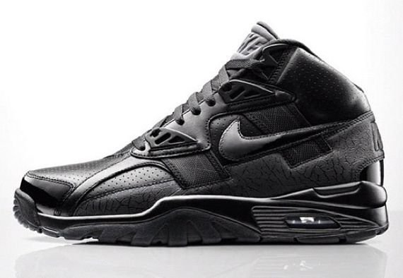 3198b0ad84c Nike Air Trainer SC High Premium QS  Black Elephant  Gets a US ...