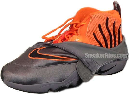 c3e52981119 Nike Air Zoom Flight 98 The Glove OSU Grey Orange 2013 Retro ...