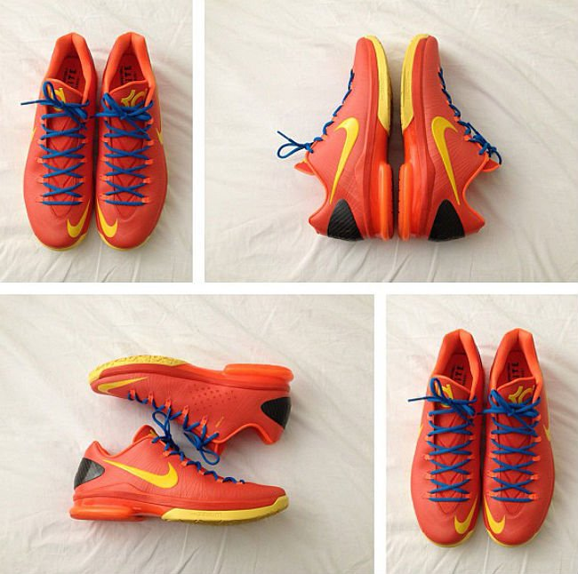 "Nike KD V (5) Elite ""Team Orange"" 