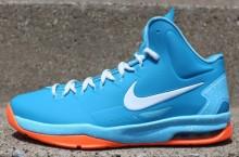 Nike KD V (5) GS 'Neo Turquoise/Windchill-Bright Citrus'