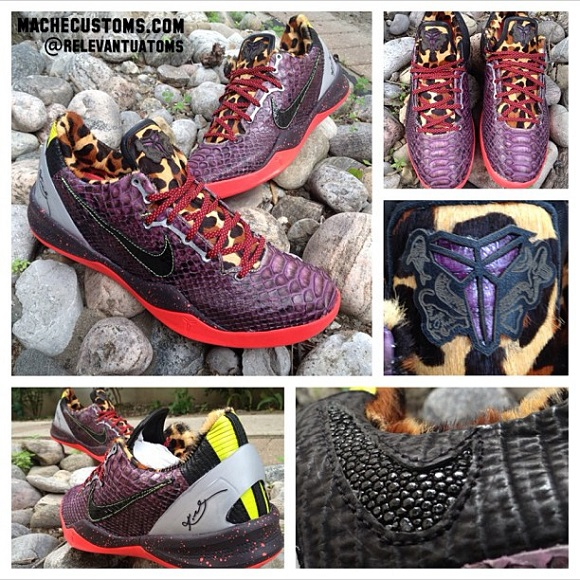 Nike Kobe System 8 Real What The Kobe Custom By Mache And Relevant Customs