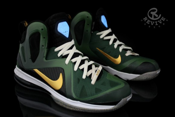Nike LeBron 9 Elite Master Chief by Revive Customs