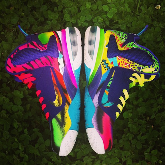 nike lebron 9 what the 90s by district customs2