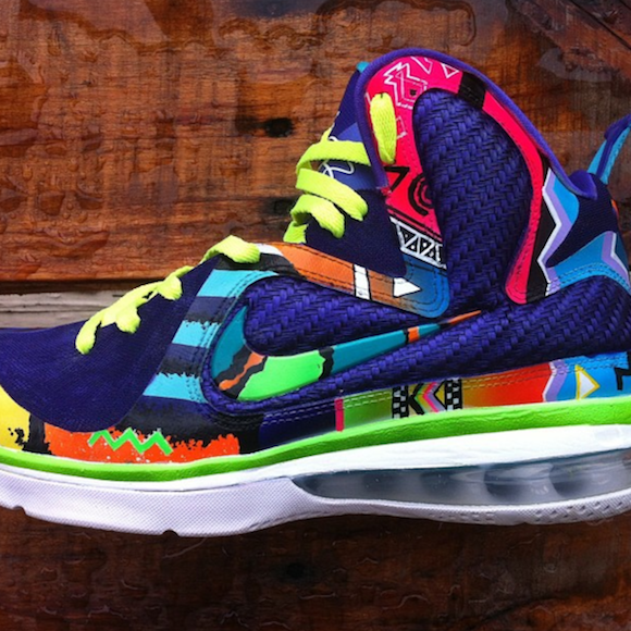 nike lebron 9 what the 90s by district customs3