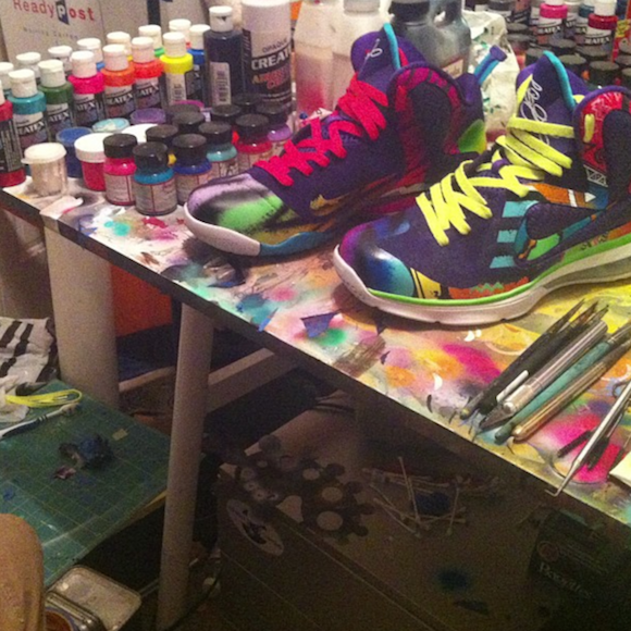 nike lebron 9 what the 90s by district customs4