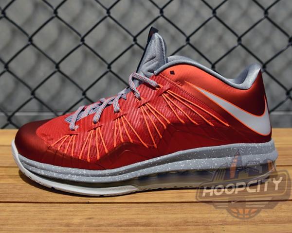 Nike LeBron X (10) Low 'University Red
