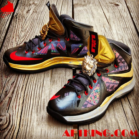 Nike LeBron X Invictus Custom by Chef of GourmetKickz