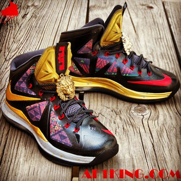 Nike LeBron X Invictus Custom by Chef of GourmetKickz