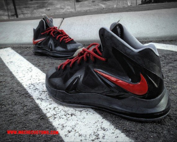 Nike LeBron X Killer Elite by Mache Customs
