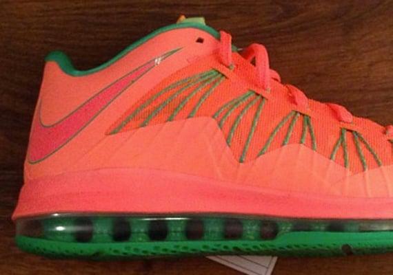Nike LeBron X Low Watermelon