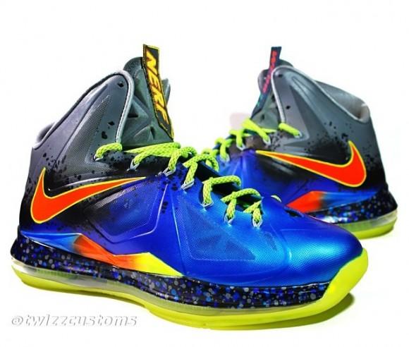 Nike LeBron X NerfMan 2 Custom by Twizz Customs