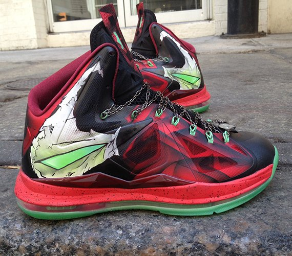 Nike LeBron X Spawn Customs by Mache