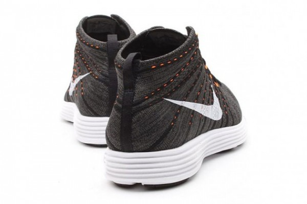 a080ab5f89 Nike Lunar Flyknit Chukka  Midnight Fog White-Total Orange-White ...
