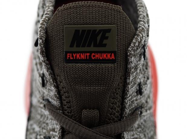 9b77e3d72fc8 Nike Lunar Flyknit Chukka  Tarp Green Black-Silver-Total Crimson ...