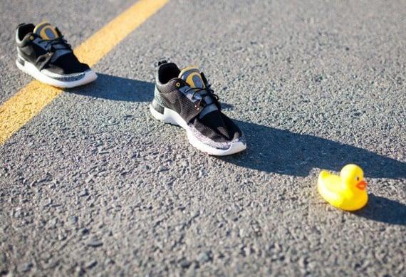 Nike Roshe Run Oregon Ducks Pit Crew by JP Custom Kicks