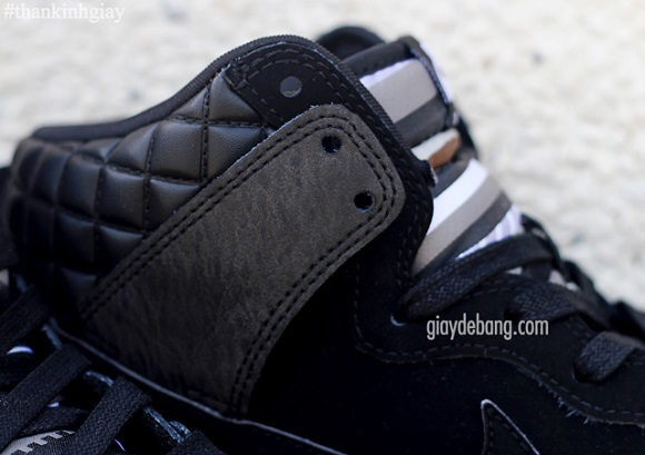 Nike SB Dunk High Black Leather Detailed First Look