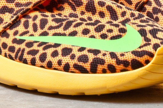 Orange Leopard Nike Roshe Run FB