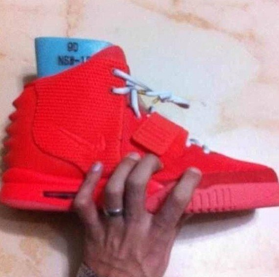 Nike Air Yeezy 2 Red