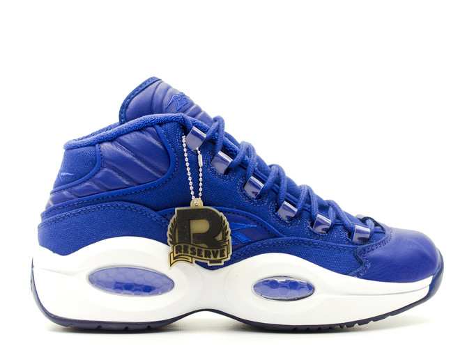 promo code 6037f 3256e durable modeling Reebok Question Mid Canvas Pack Blue Canvas   Pre Order  Available
