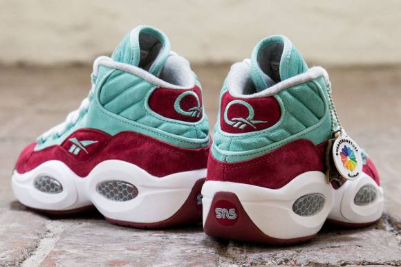 Sneakersnstuff x Reebok Question Mid Aqua