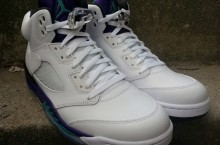"Release Reminder: ""Grape"" Air Jordan V (5) 2013 Retro"