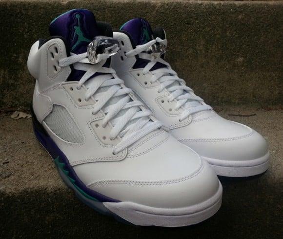 Release Reminder Grape Air Jordan V