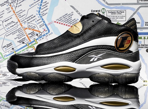 Release Reminder Reebok The Answer 1 Retro Black Gold Available For Pre Order Now