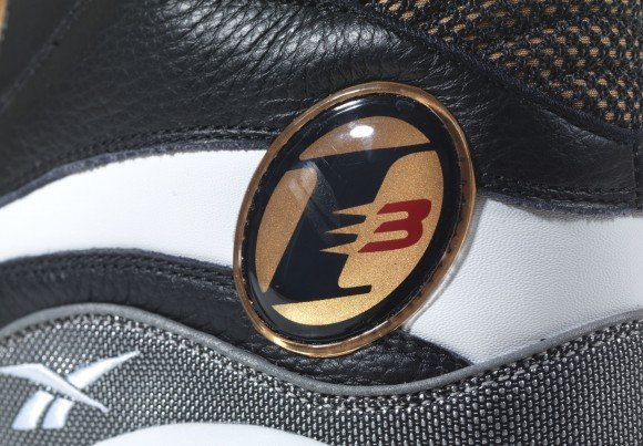 16027a4b55e2ef Release Reminder Reebok The Answer 1 Retro Black Gold Available for Pre  Order Now free shipping