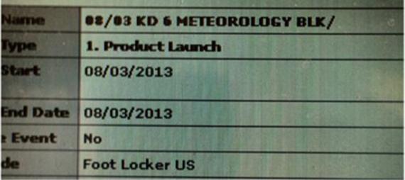 Release Update Nike KD VI Meteorology
