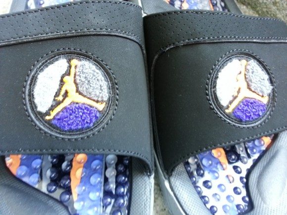 Suns Air Jordan 8 Hydro Slide Detailed Images