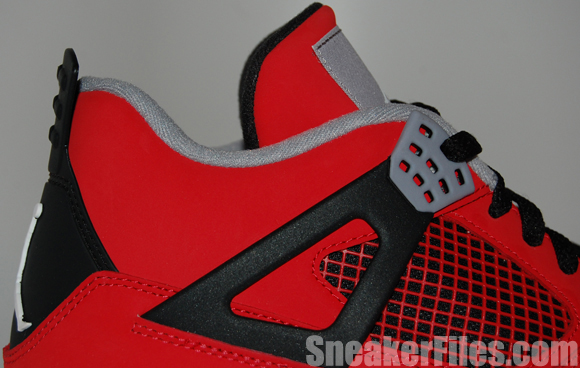 Toro Red Air Jordan 4 IV Retro 2013 Epic Look