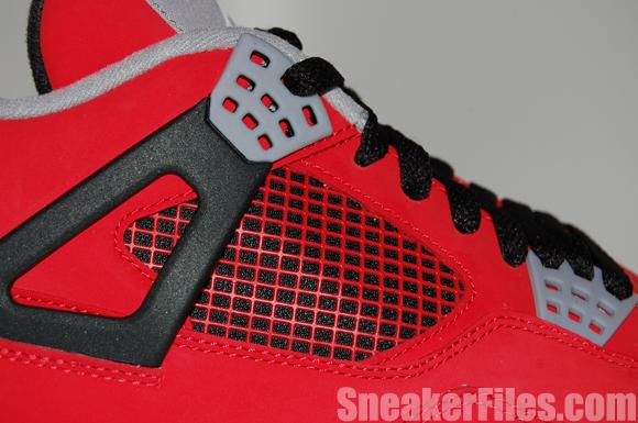 Toro Red Air Jordan 4 IV Retro 2013 Epic Look
