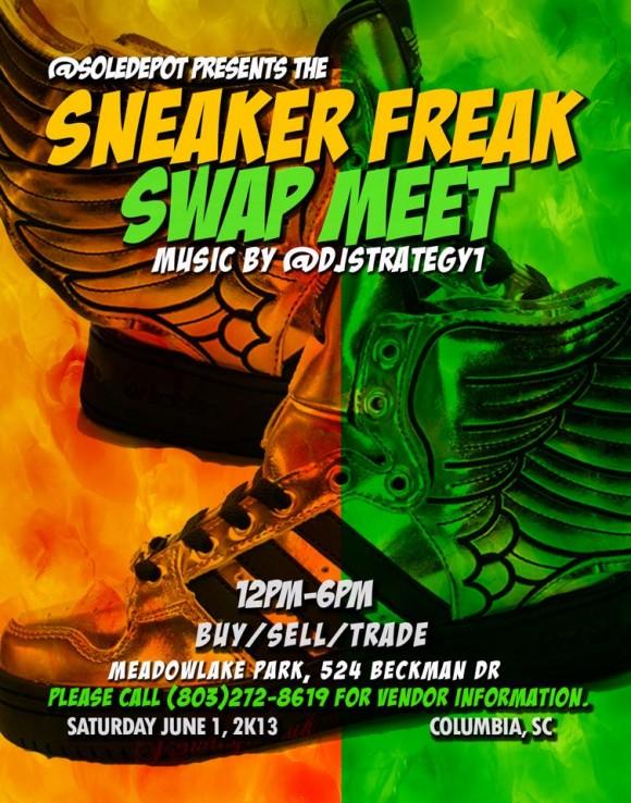 Upcoming Event Sneaker Freak Swap Meet June 2013