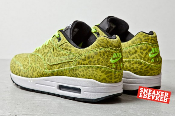 Yellow Leopard Nike Air Max 1 FB