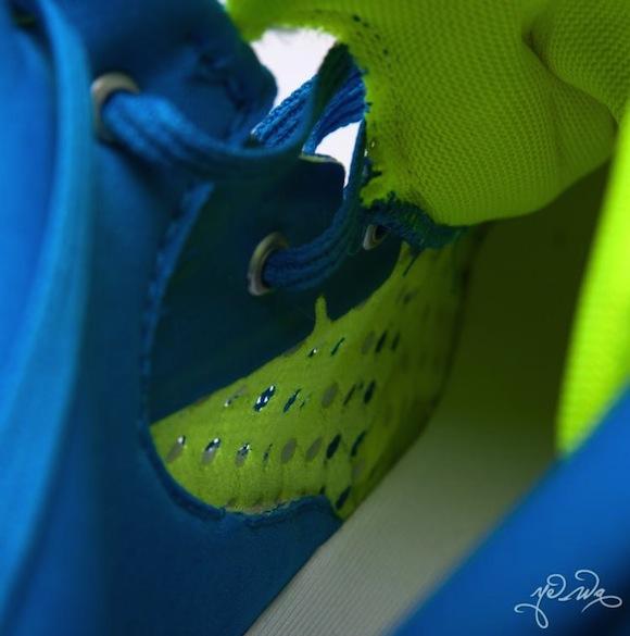 Adidas Crazy Light 3 Blue Neon
