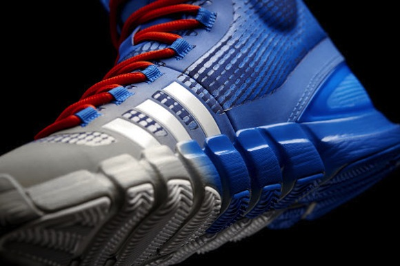Adidas CrazyQuick Blue Silver Orange New Release