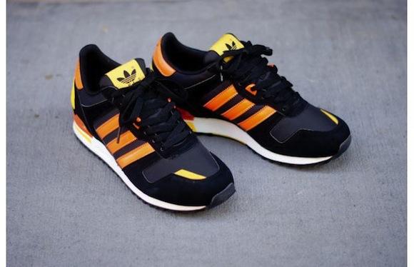 Adidas Originals ZX 700 Black Orange New Release
