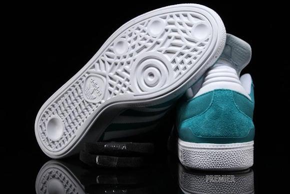Adidas Skateboarding Busenitz Teal White New Release