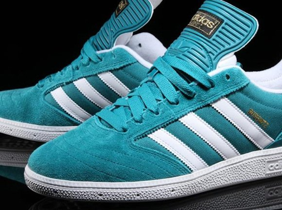 Adidas Skateboarding Busenitz (Teal White) - New Release  a0d0bd375