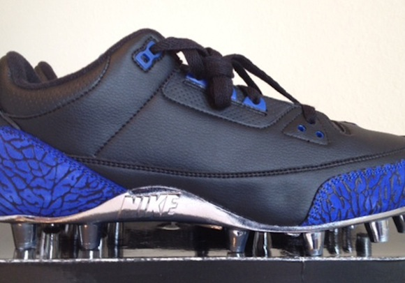 Air Jordan III 3 Marvin Harrison PE Cleat