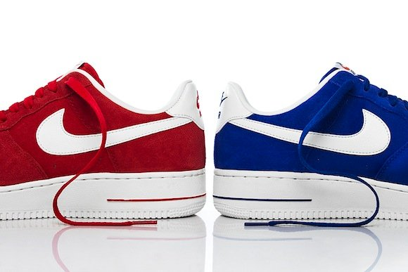 Hyper Blue University Red Nike Air Force 1 Blazer Pack