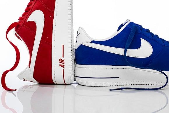 Hyper Blue University Red Nike Air Force 1 Blazer Pack
