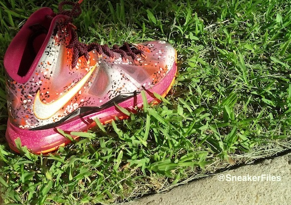 Lebron X Floridian Night Customs by CodyMoore