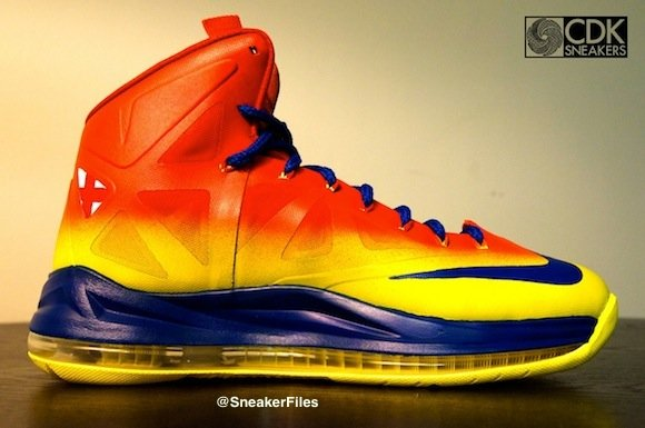Lebron X Barcelona By CDKsneakers