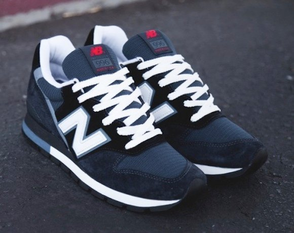 New Balance 996 Navy Steel White New Release