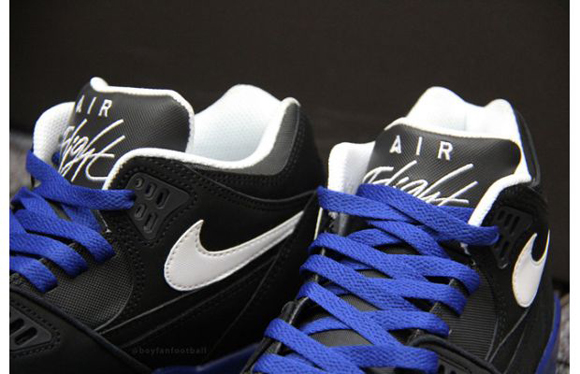 Nike Air Flight 89 Black White Blue Speckle Another Look 02