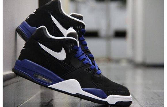 Nike Air Flight 89 Black White Blue Speckle Another Look